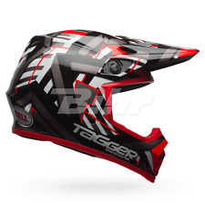 BELL Casco offroad MX-9 MIPS EQUIPPED TAGGER DOUBLE TROUBLE (58/59) L NEGRO/ROJO