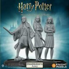 Dumbledore's Army Harry Potter Miniatures Adventure Game by Knights Models - New