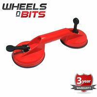 TWIN DUAL DENT PULLER SUCTION CUP GLASS LIFTER CARRIER 60kg J1870