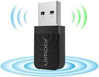 MINI ADATTATORE USB PC WIFI 1200 MBPS ANTENNA CHIAVETTA WIRELESS WI FI RALINK