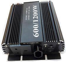 600w (1200W peak) soft start power inverter modified 600 watt 12v 220v-240v