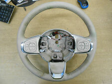 FIAT 500 312 2016 CREAM LEATHER STEERING WHEEL & MULTIFUNCTION CONTROLS