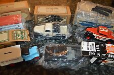 5 ERTL COLLECTIBLE SCALE MODEL VINTAGE VEHICLES!! 1 CAR & 4 TRUCKS!! MUST SEE!!
