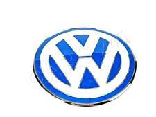 Genuine VW BEETLE 99-05 FRONT HOOD BONNET BADGE EMBLEM BLUE 1C0853617 39A