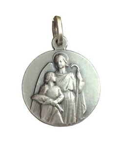 SAINT RAPHAEL THE ARCANGEL- 925 STERLING SILVER MEDAL - MADE IN ITALY