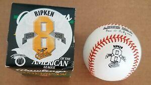 Cal Ripken Jr. Commemorative Baseball 2131 Consecutive Games