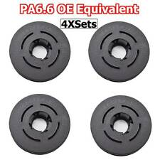 4 x For Audi VW Skoda Seat Car Floor Mat Clips / Clamp Button Hole OE Equivalent