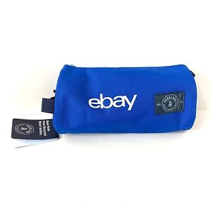 Ebay Swag Pencil Case Makeup Bag Blue Labeled Duffle Canvas Tote Recycled
