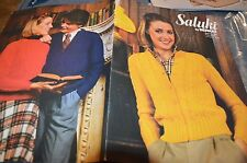 Bernat Knitting Pattern Book 281 Saluki