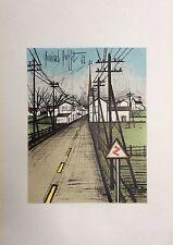 Buffet Bernard Affiche en lithographie Mourlot Peintres Témoins de leurs temps
