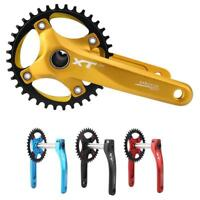 Aluminum Alloy Mountain Bike Cranks MTB Bicycle Cranksets 170mm BCD 104mm SP