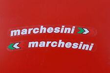 DUCATI 916 996 998 999 1098 1199 HYPERMOTARD MARCHESINI Sticker Bianco