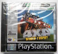 WORLD TROPHY 4X4 PS1 PLAYSTATION ONE PAL ITA