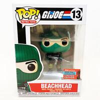 Funko Pop Beachhead 2020 Fall Convention Target Exclusive GI Joe Beach Head
