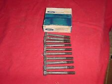 NOS FORD 1964 65 66 67 68  MUSTANG 260 289 K CODE HEAD BOLTS C2OZ-6065-B (10)