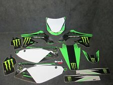 Kawasaki KXF450 2009-2011 D Cor Monster Energy graphics kit GR014