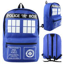 Doctor Who Tardis Rucksack Back Bag cosplay anime umhängetasche schultertasche