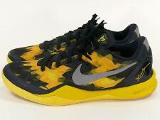 Nike Zoom Kobe VIII Sz 13 Black/Sulfur - air away 2012 8 low system vi vii ix x
