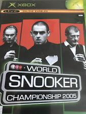 New listing World Snooker Championship 2005 Xbox Original