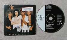 "CD AUDIO INT / MiCHAEL JACKSON FEAT 3T ""WHY"" CD SINGLE CARD SLEEVE"