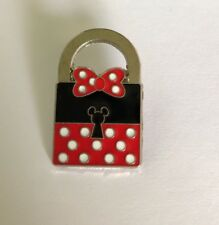 DISNEY Minnie Mouse Lock Collectible Trading Pin 2014