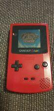 Nintendo GameBoy Color Rot Handheld-Spielekonsole game boy