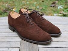 Church's 'Berlin' Brown Suede Brogues Leather Men's Shoes UK 6.5 F