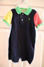 NWT 18 mos Ralph Lauren one piece multi colored outfit