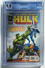 The Incredible Hulk #449 Cgc 9.8 1st App Thunderbolts