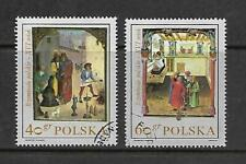 Vp107 Poland 2 Stamps #1697-1698 Used Cds