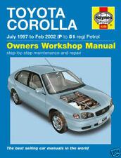 Manual de taller de reparación y servicios Corolla
