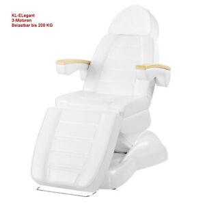 100273 Kosmetikstuhl Arztliege Massageliege Kosmetikliege elektrisch 3 Motoren