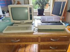 AMSTRAD PCW8256 Personal Computer Word Processor with Printer, floppy and book