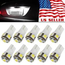 10x White T10 168 194 2825 C5W 5-SMD LED License Plate Light Bulb Wholesale Lot