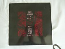 The Sisters of Mercy  LP  First and Last and Always - 1985 WEA Rec. - 10 Trax -