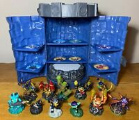 Skylanders Spyro's Adventure Tower Storage Case, Wii Portal of Power 10 Figures