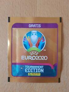 "Panini PROMO Tüte Euro 2020 Deutsche ""Gratis"" kein Barcode Tournament RAR 2021"
