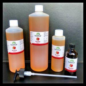 Organic Rosehip oil 100% PURE OIL  BEST VALUE ON EBAY 250 ML