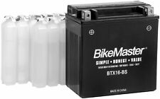 BikeMaster Motorcycle High Performance Maintenance Free Battery BTX20HL-BS