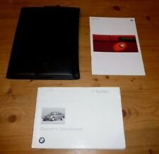 BMW e36 3 Series Owners Handbook 1995 (316 318 320 325 Manual)