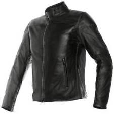 Blousons noirs Dainese en cuir pour motocyclette