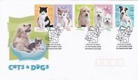 AFD295) Australia 2004 Cats & Dogs FDC