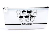 BTS BANGTAN BOYS Pencil Case JUNG KOOK SUGA J-HOPE Makeup Cosmetic Bag BD-BTS1