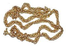 14K Yellow Gold Massive Chain Singapore (585) Length 21'' (53cm) Weight 38,76g