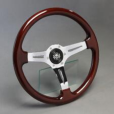 Volante madera volante deportivo madera 360mm buje Opel GT manta a B Kadett rekord c nuevo