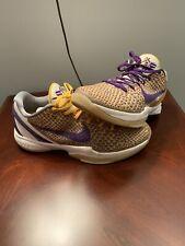 Nike Kobe Bryant Zoom Lakers Colorway - Size 12