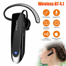 Wireless Bluetooth Headset Mic Stereo Headphone Earphone Sport Handfree Driver