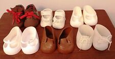 Six Pairs Doll Shoes Vintage Cabbage Patch Kids & Other