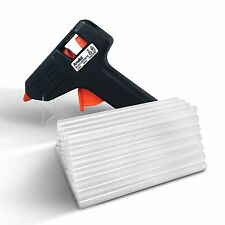 Amdai 20W Electric Glue Gun Hot Melt with Trigger PLUS 60 Glue Sticks for Hobby,