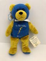 Holy Bears Teddy Bear St Barnabas Blazers Plush Stuffed Catholic 2004 Tags
